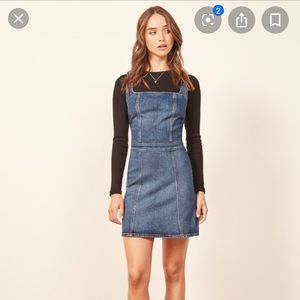 Reformation Parker Mini Dress